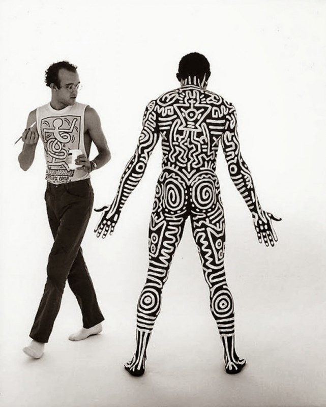 Tseng Kwong Chi, Keith Haring + Bill T. Jones