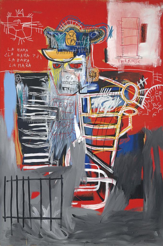 Jean-Michel Basquiat, La Hara