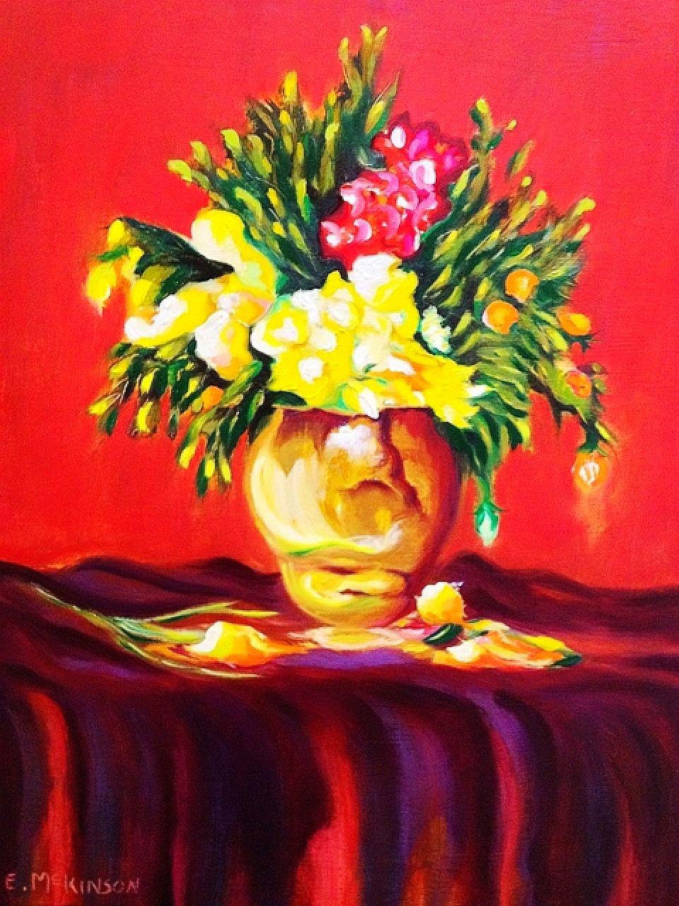 Roses in Vase II Errol McKinson