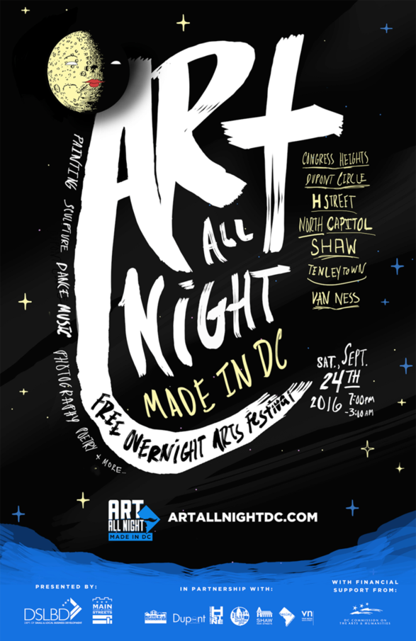 Art All Night Made In DC