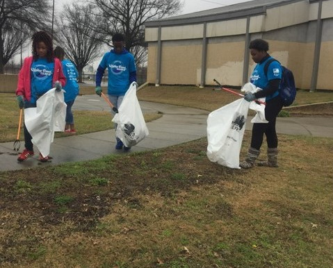 Birmingham area volunteers lend a hand for Valley Creek