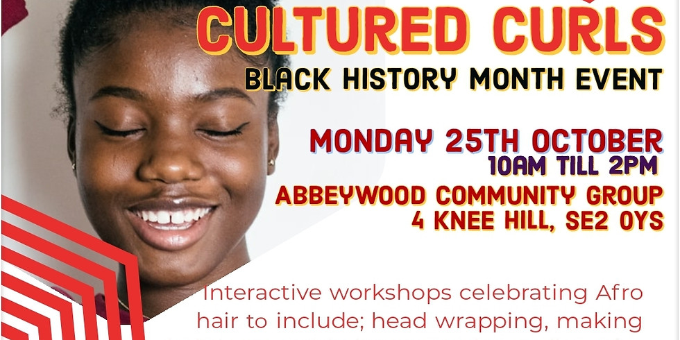Cultured Curls Black History Month Event