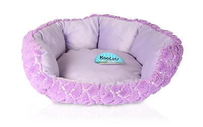 Violet Dog Bed