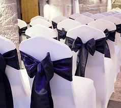 wedding chair covers hire Plymouth, Devon