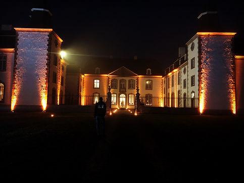 éclairage sur façade SLS Event