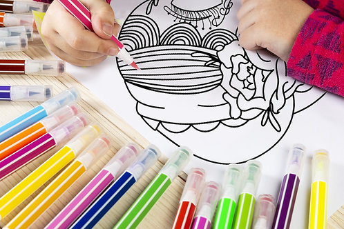Sugar Skull Bride Coloring Page