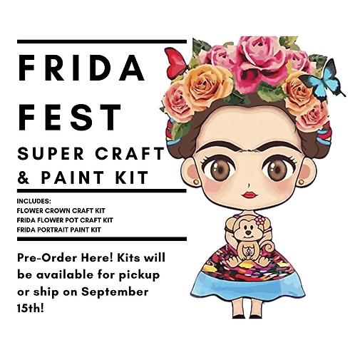 Frida Fest Super Craft & Paint Kit