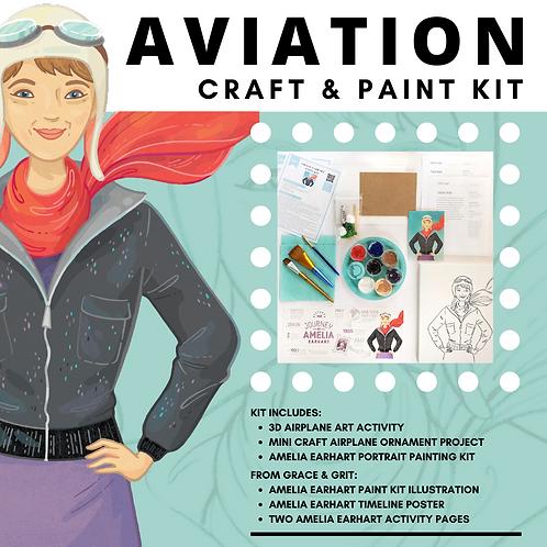 Aviation Craft & Paint Kit