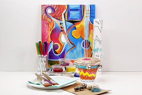 """Jazz"" Craft and Painting Kit- February 2021"