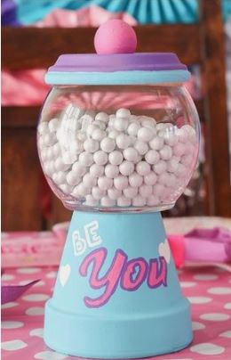 Spring 2021 Seasonal Craft - Make and Paint Your Own Candy Dispenser