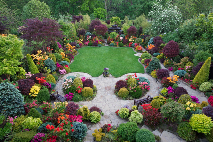 تنسيق حدائق منازل