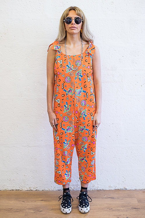 Cowabunga Cotton Jumpsuit