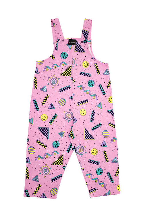 Dreamland Happy Candy Pink Kids Jumpsuit