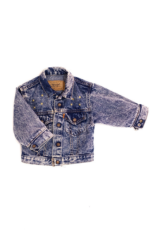 Star Studded Dimond Denim Jacket