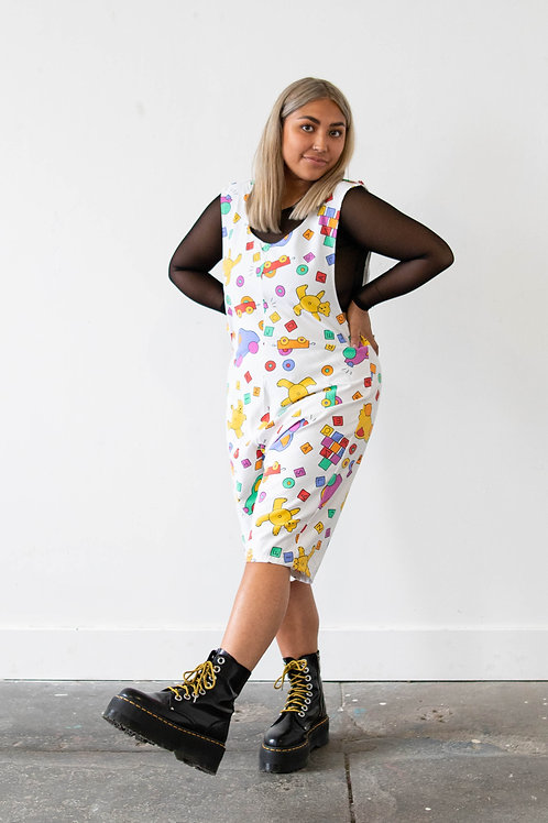Toy Popper Top Playsuit