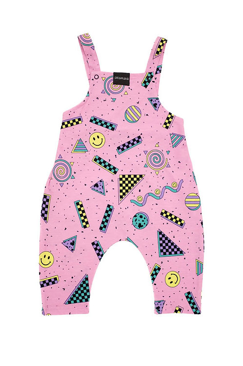 Dreamland Happy Candy Pink Infant Jumpsuit