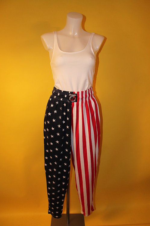1980s Vintage American Style Jogging Bottoms