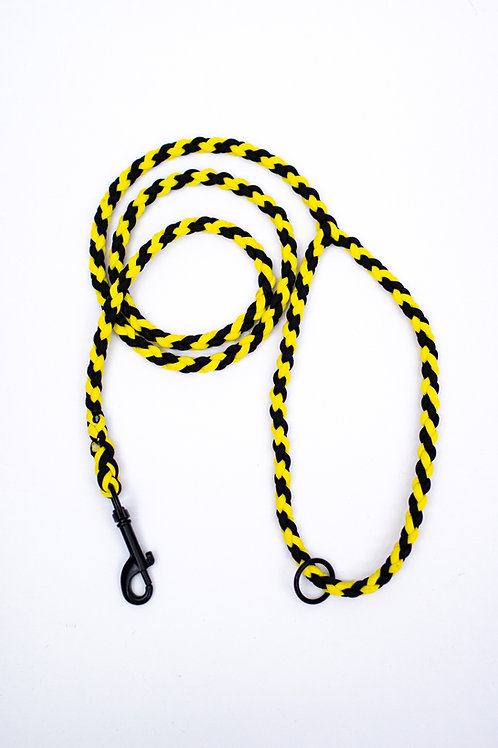 Dreamland Doggy X Daft Pup Yellow and Black Lead
