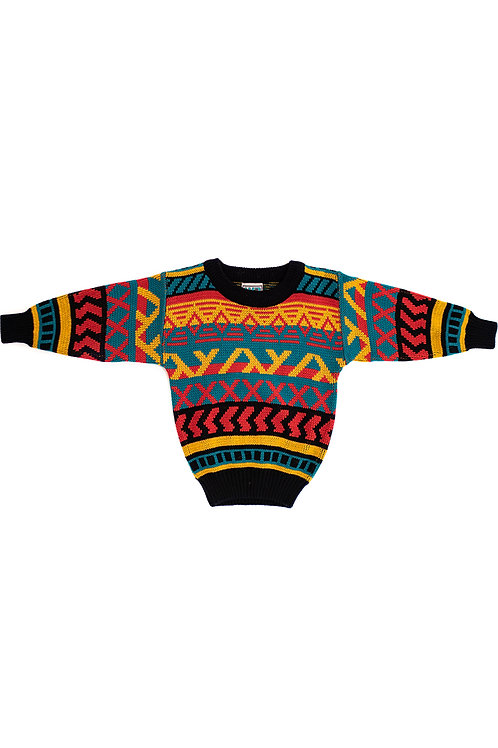 Aztec Multicoloured Jumper