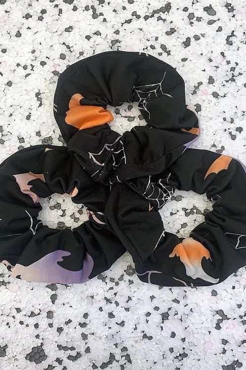 3 Halloween Scrunchies