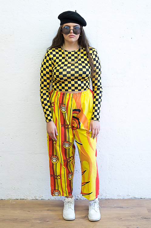 The Simpsons Flame Print Trousers