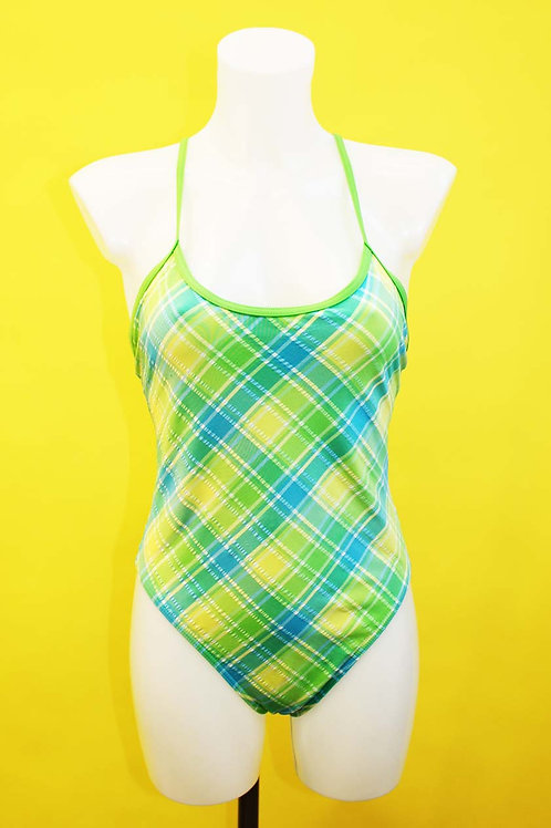 Green Tartan Swimsuit