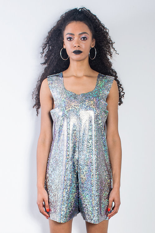 Silver Festival Playsuit