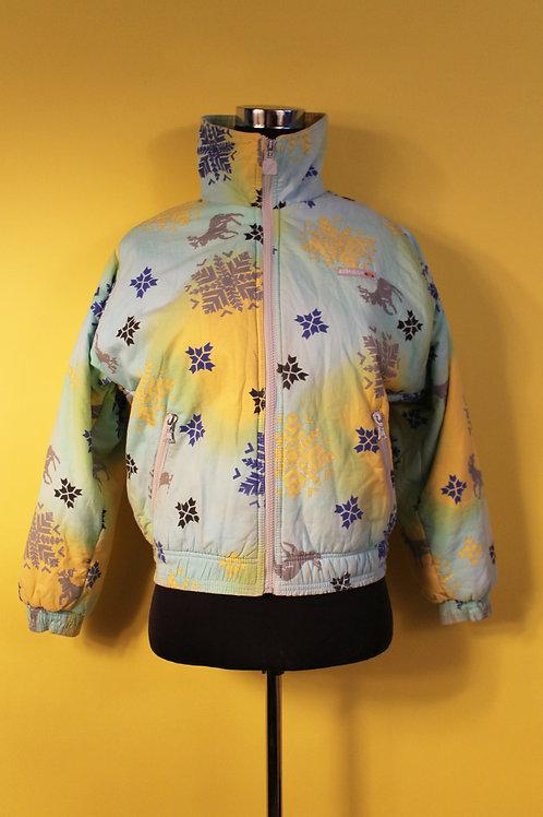 1980s Vintage Ellesse Snowflake Jacket