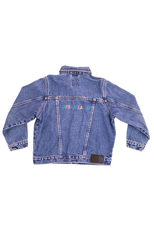 Dreamland Embroidered Denim Jacket