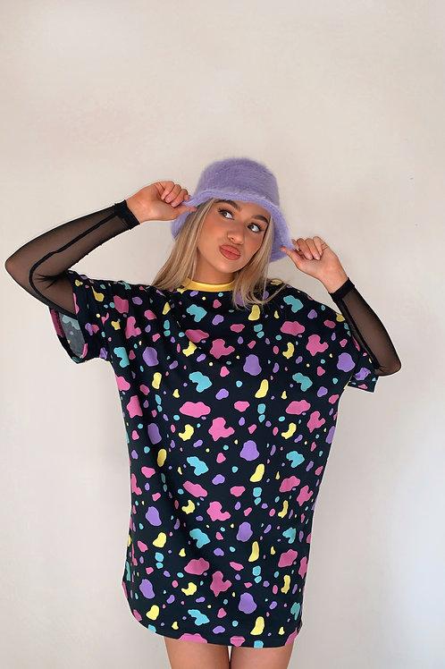 Bedrock Splat T-shirt Dress