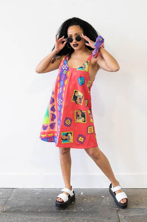 Pocahontas Tie Top Dress