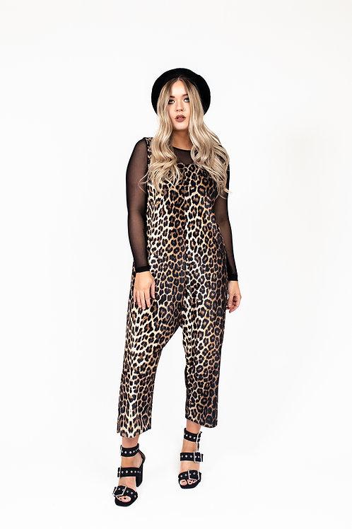 Classic Leopard Print Jumpsuit (All Leopard Print)