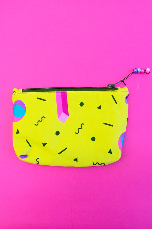 Yellow Make-up Bag