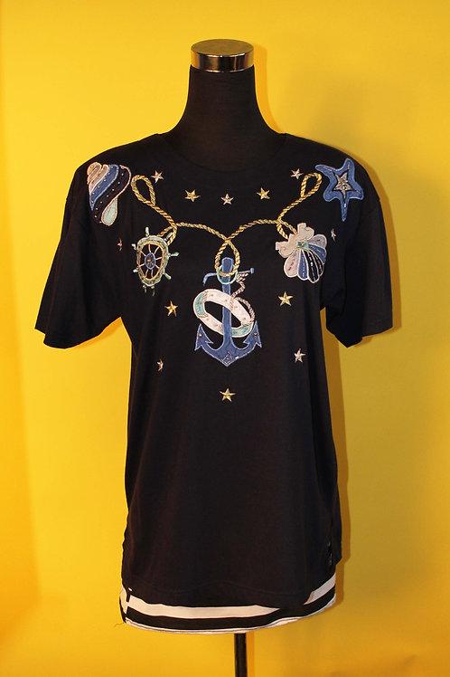 1980s Vintage Sailor Inspired T-shirt