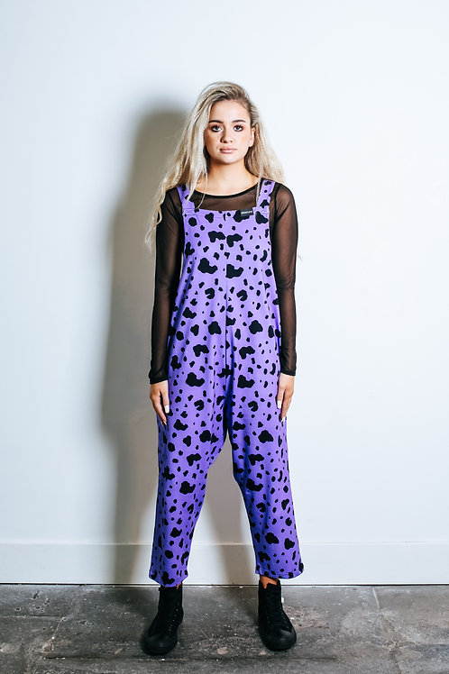 Purple Bedrock Jumpsuit