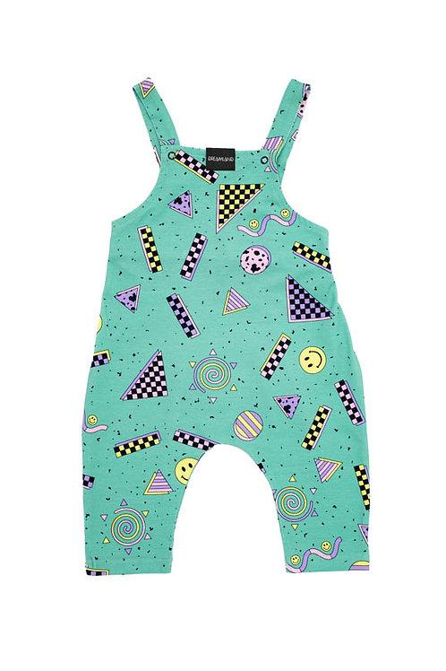 Dreamland Happy Mint Infant Jumpsuit