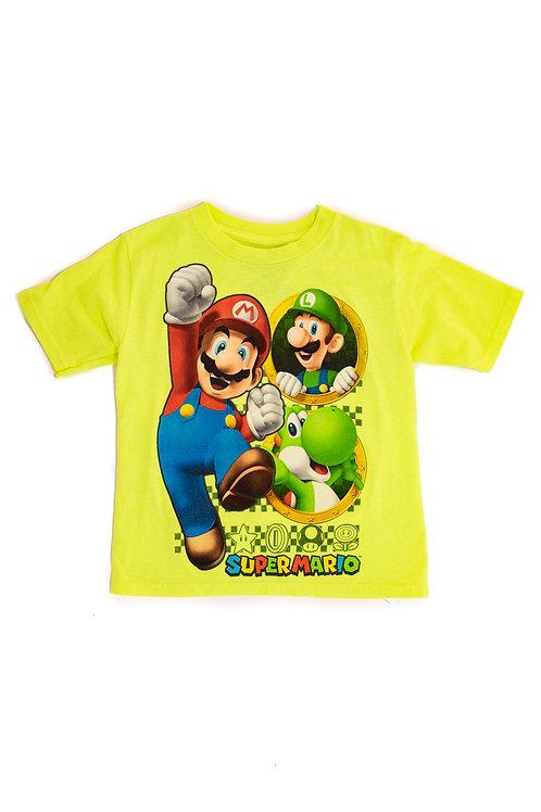 Mario And Luigi Yellow T-shirt