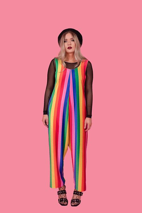 Circus Print Jumpsuit