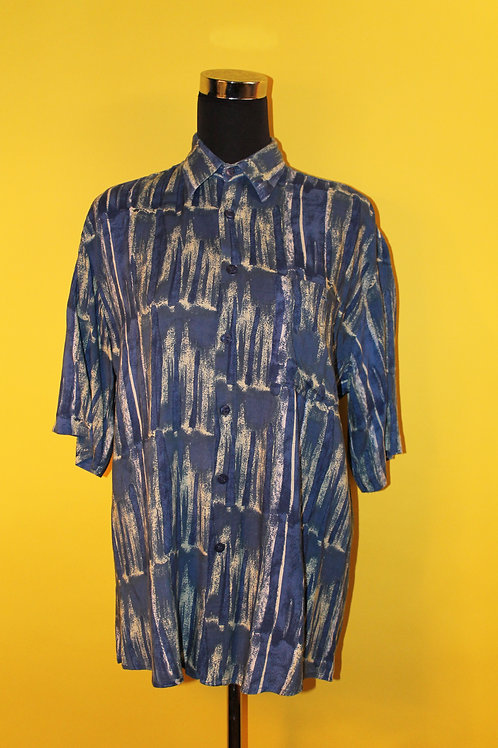 1980s Vintage Printed Shirt