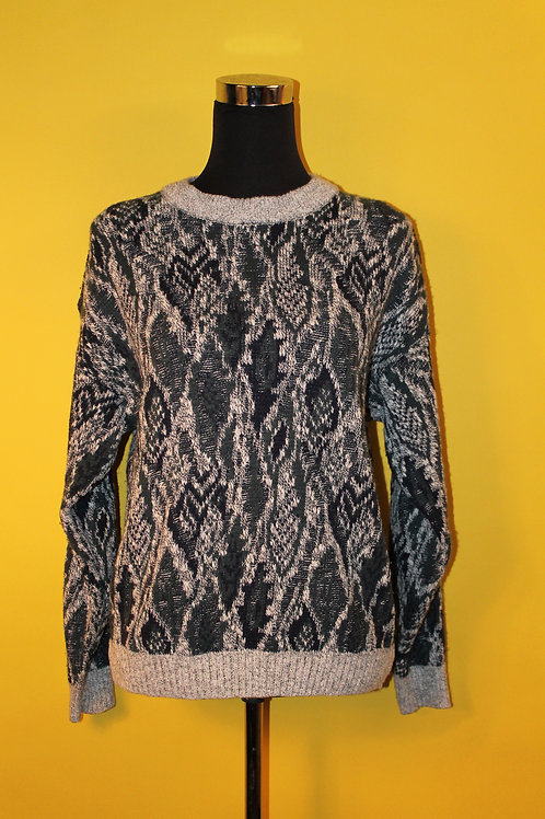 1980s Vintage Knitted Wooly Jumper