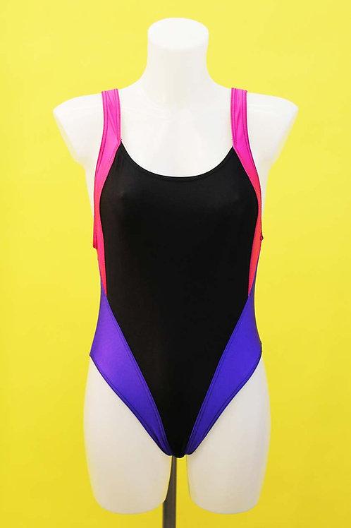 Contrast Stripe Swimsuit