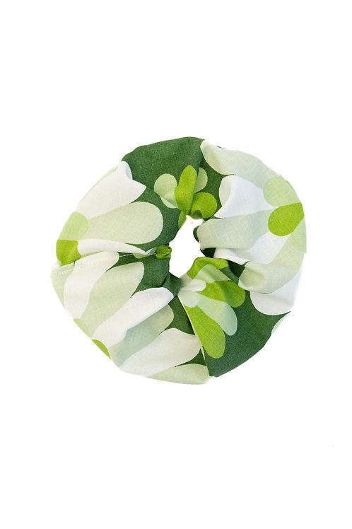 Flower Print Scrunchie