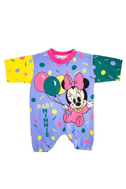 Minnie Mouse Pastel Babygrow