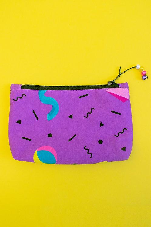 Purple Make-up Bag