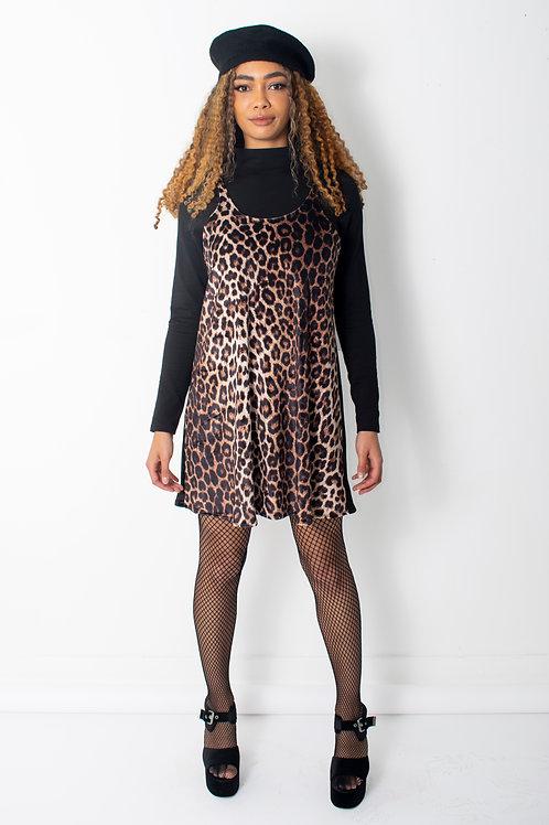 Leopard Print Swing dress