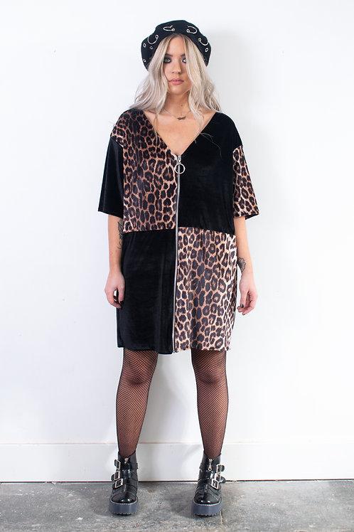 Vice Zip T-shirt Dress