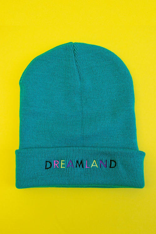 Jade Dreamland Embroidered Beanie