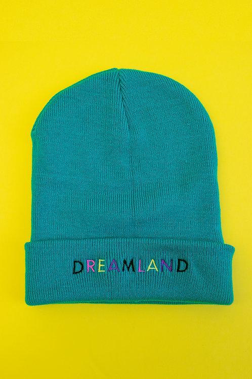 Jade Dreamland Embroidered Beanie