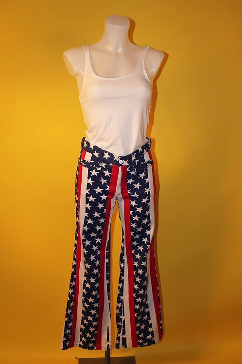 1980s Vintage American Style Flared Jeans