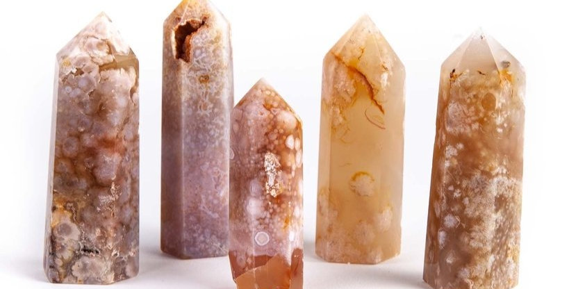 Flower Agate Towers